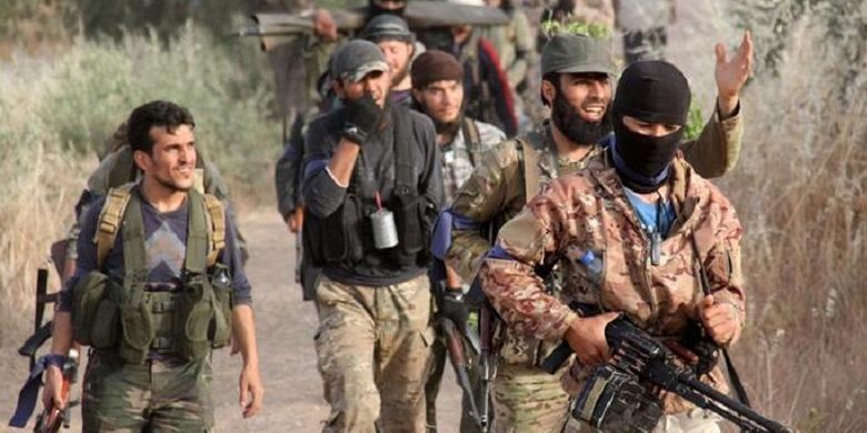 Pasukan Front al-Nusra, sayap Al Qaeda di Suriah