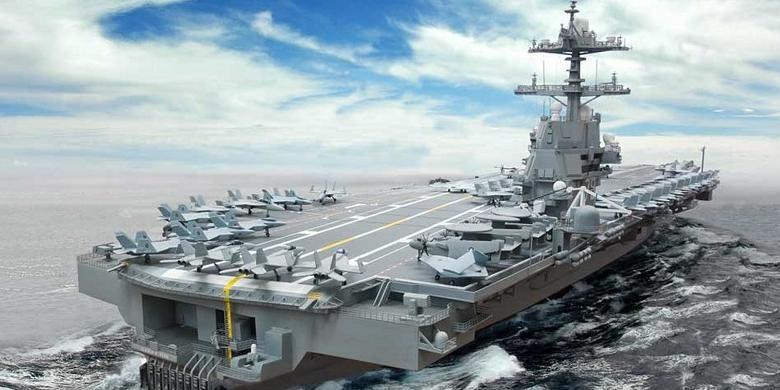 AS Kirim Armada Angkatan Laut di Atlantik untuk Bendung Rusia