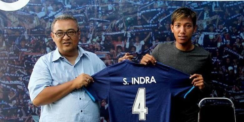 Syaiful Indra Cahya resmi menjadi milik Arema Cronus.