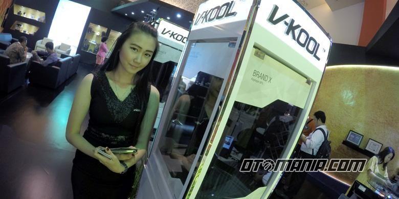 V-Kool memberikan edukasi ke konsumen dengan pengetesan kualitas secara gratis.
