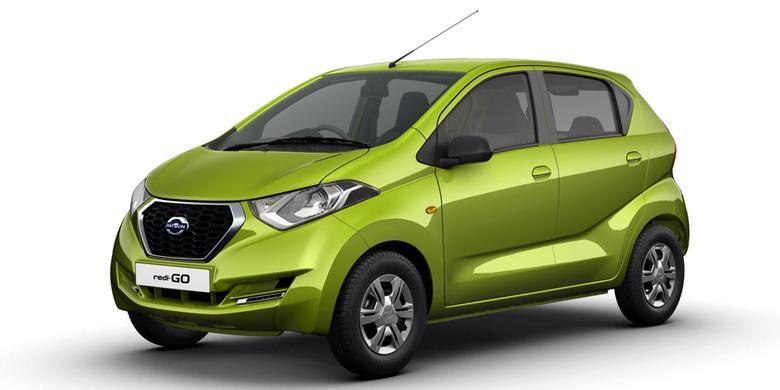 Datsun redi-GO resmi diperkenalkan di New Delhi, India, Kamis (14/4/2016).