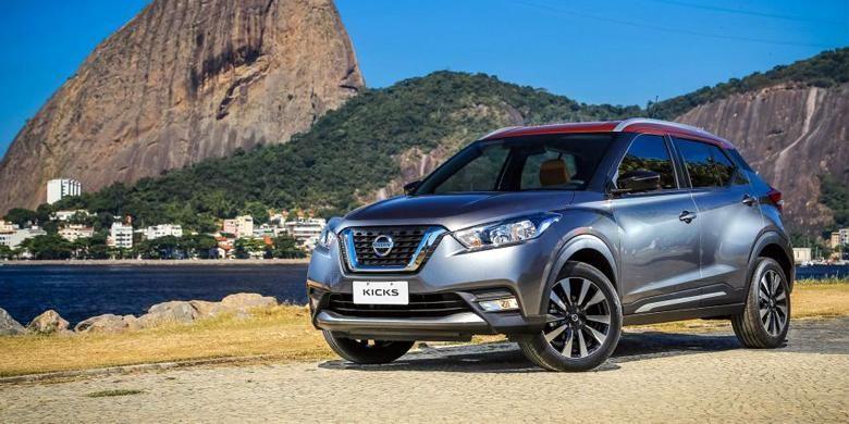 Nissan Kicks resmi diperkenalkan di Brasil, Senin (2/5/2016).