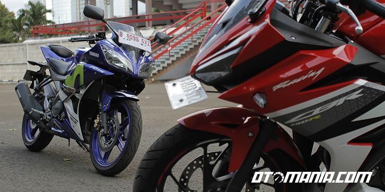 Komparasi Yamaha R15 dan Honda CBR 150