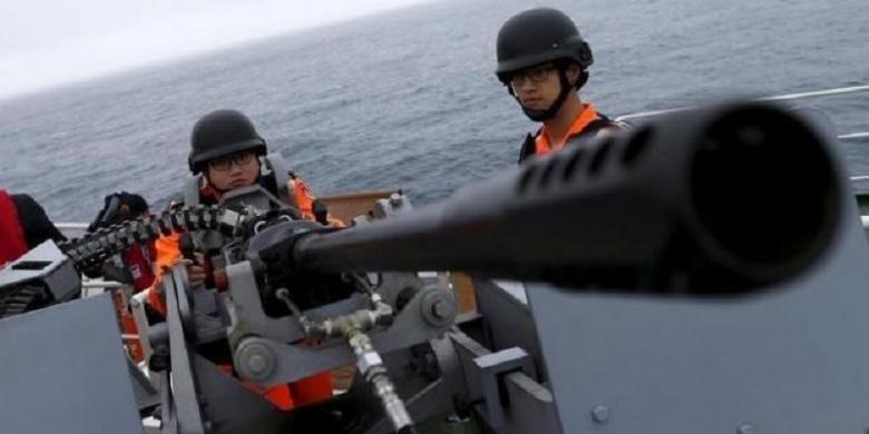 Militer China menggelar latihan skala besar di pantai tenggara negaranya menjelang pelantikan pemimpin Taiwan.