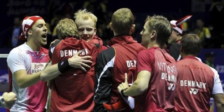 Denmark Waspadai Indonesia, China dan Jepang pada Piala Thomas 2018