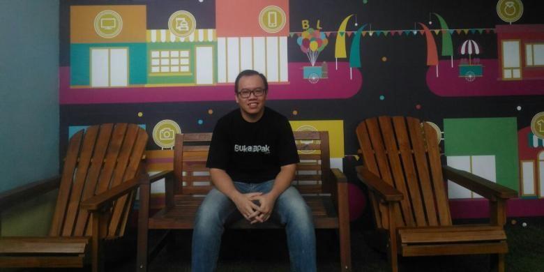 Co-Founder sekaligus Chief Finance Officer Bukalapak.com, Muhammad Fajrin Rasyid.