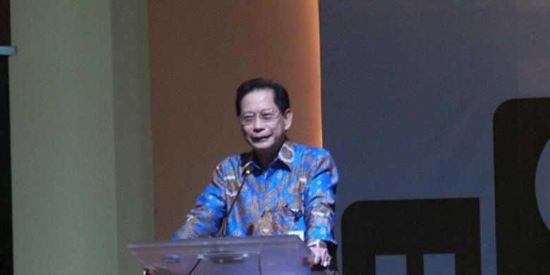 Presiden Direktur PT Bank Central Asia Tbk Jahja Setiaatmadja di Jakarta, Senin (20/6/2016).