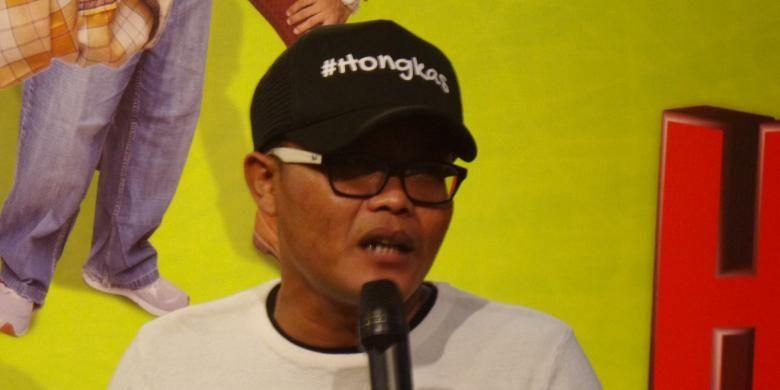 Artis komedian Sule menghadiri syukuran film Hongkong Kasarung, di Pong Me, Senopati, Jakarta Selatan, Sabtu (2/7/2016).