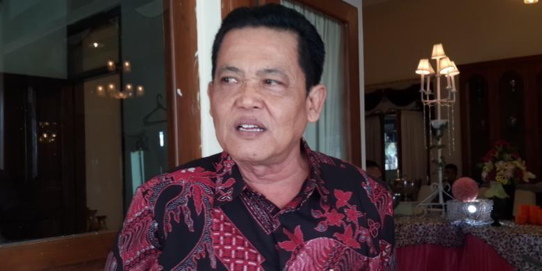 Wali Kota Pasuruan Setiyono saat ditemui di rumah dinasnya, Jumat (15/7/2016)