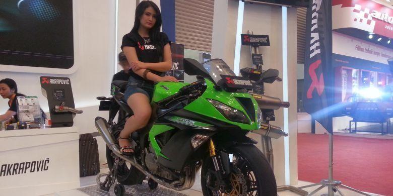 Knalpot Akrapovic buat ragam sepeda motor sport