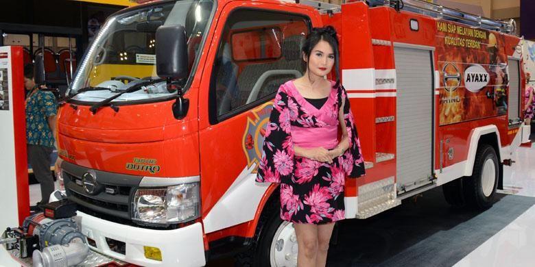 Hino Dutro 130 HD Pemadam Kebakaran
