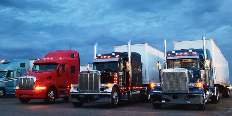 Ilustrasi truk.