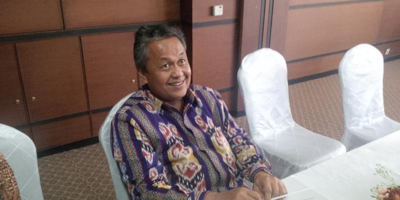 Deputi Gubernur Bank Indonesia (BI) Perry Warjiyo, di Kantor Perwakilan Bank Indonesia Sulawesi Utara, Manado, Jumat (2/9/2016)
