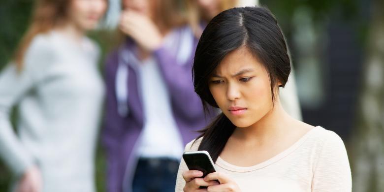 Ilustrasi cyber bullying