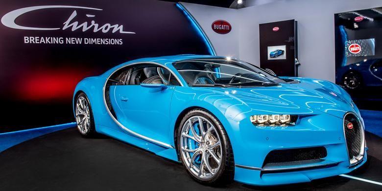 Bugatti memboyong Chiron di ajang F1 GP Singapura, untuk membuai para calon konsumen di Asia Tenggara.