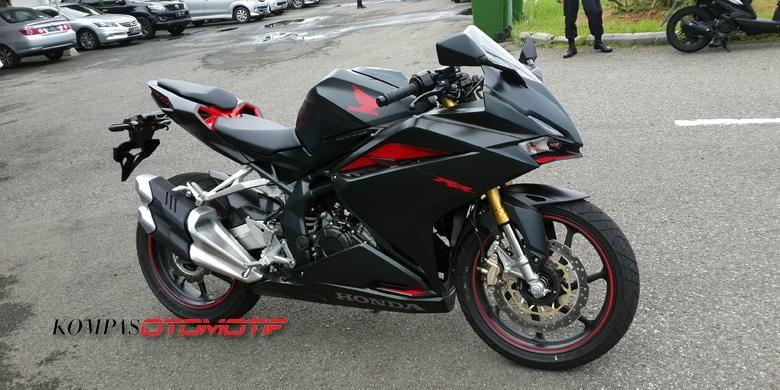 Honda CBR250RR yang akan dites, merupakan prototipe.