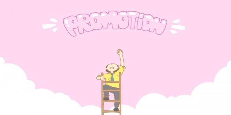 Ilustrasi promosi kerja