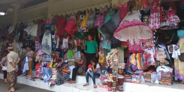 Pasar Seni Guwang di Kecamatan Sukawati, Gianyar, Bali.