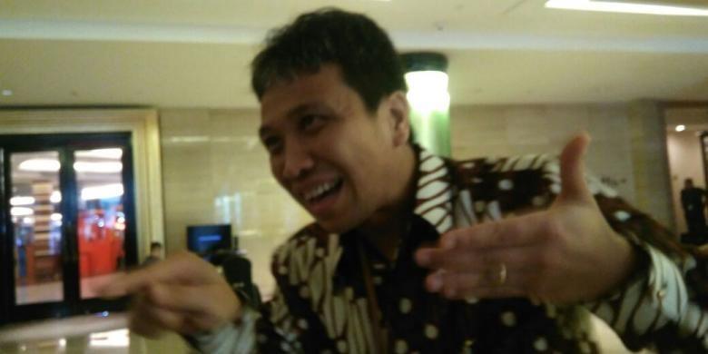 CEO PT Saka Energi Indonesia Tumbur Parlindungan, di Bandung, Jawa Barat, Rabu (5/10/2016).