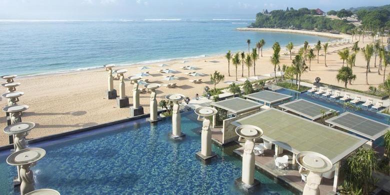 The Mulia Bali, Nusa Dua, Bali.