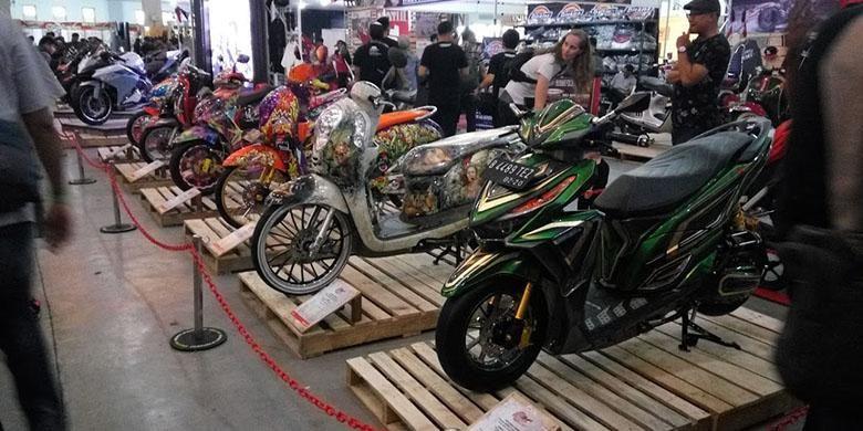 Honda Modification Contest di Kustomfest 2016
