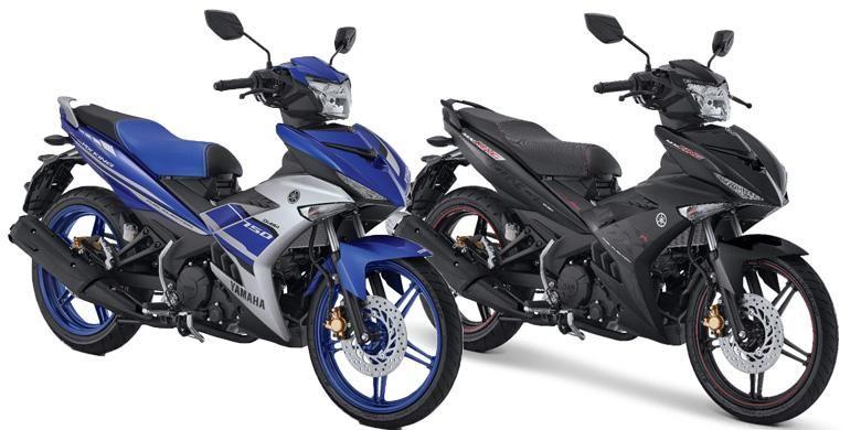 Bebek sport Yamaha mendapat penyegaran warna.