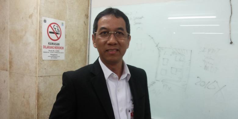 Kepala Pengelola Keuangan dan Aset Daerah DKI Jakarta Heru Budi Hartono di Balai Kota, Rabu (12/10/2016)