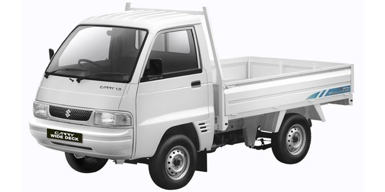 Suzuki Carry pikap wide deck.