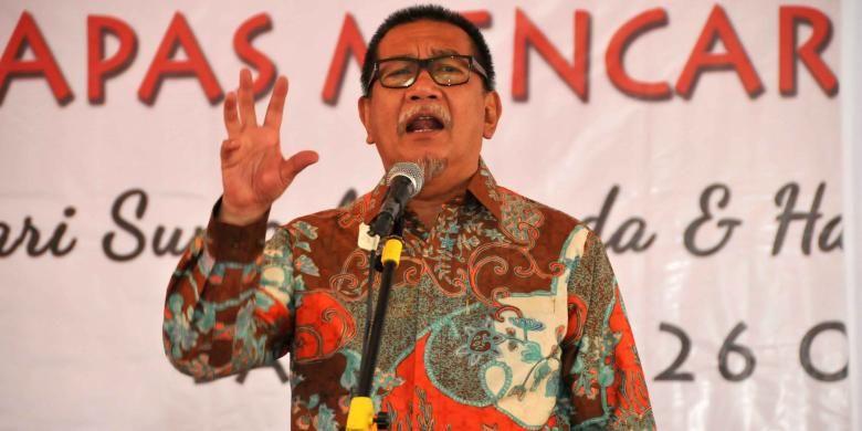 Wakil Gubernur Jawa Barat, Deddy Mizwar, membuka acara Lapas Mencari Bakat 2016, Rabu (26/10/2016) di Bandung.