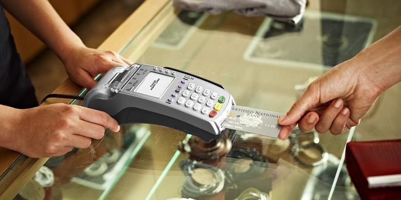 Ilustrasi transaksi elektronik