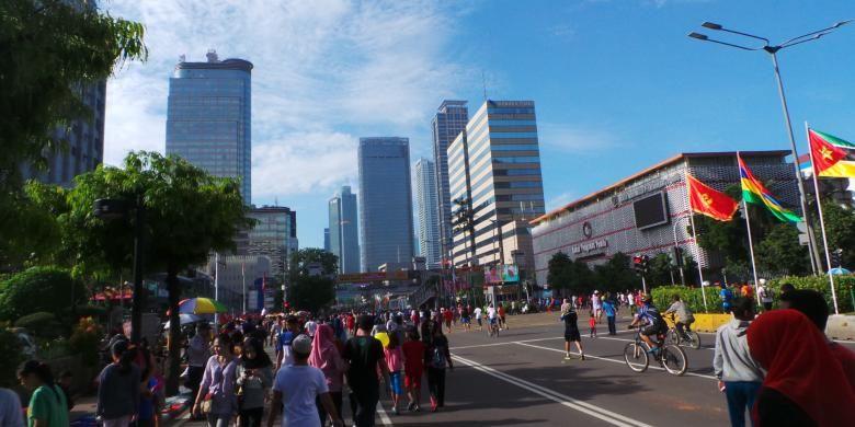 Car Free Day Jakarta Ditiadakan Pada 10 17 Dan 24 Juni Kompas Com