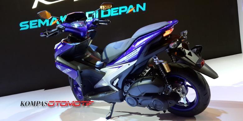 Yamaha Aerox 155 VVA belum ada harga, konsumen diminta menebak.