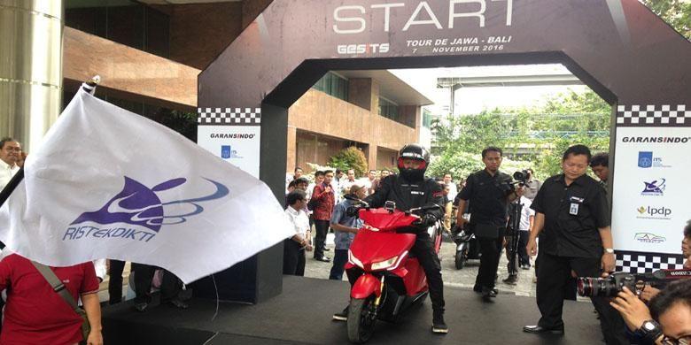 Gesits siap digeber Jakarta-Bali.
