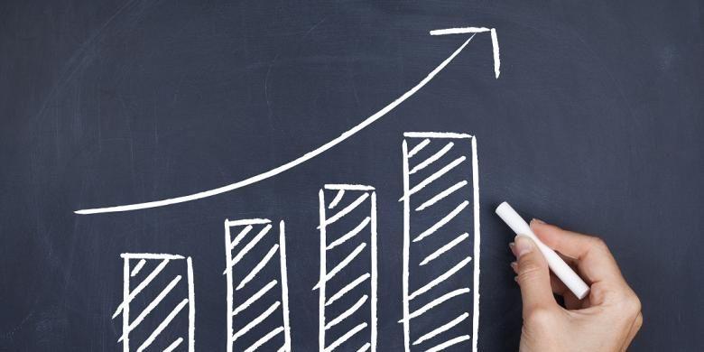 Ilustrasi pertumbuhan ekonomi