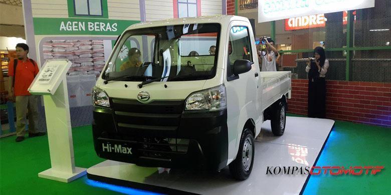 Pikap terbaru Daihatsu Hi-Max lebih kecil dari Gran Max.