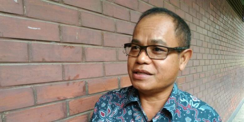 Deputi Bidang Restrukturisasi dan Pengembangan Usaha Kementerian Badan Usaha Milik Negara (BUMN) Aloysius Kiik Ro, Depok, Jawa Barat, Kamis (11/10/2016).