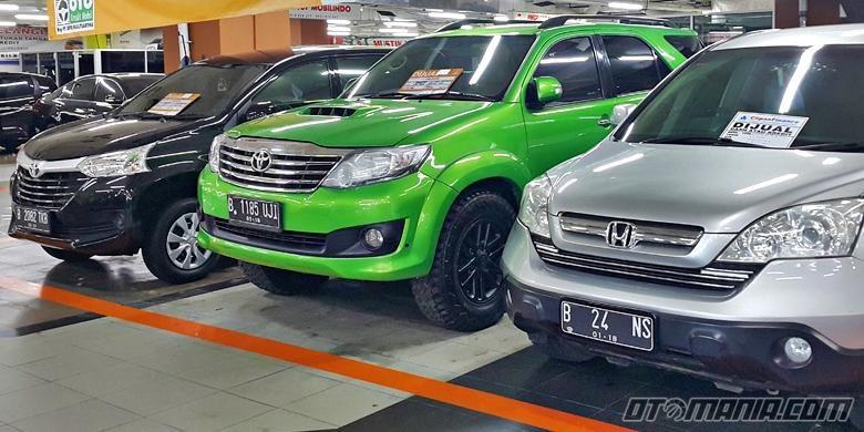 Mobkas SUV dan MPV di MGK Kemayoran