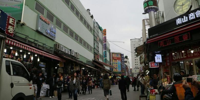 Pasar Namdaemun, Seoul, Korea Selatan
