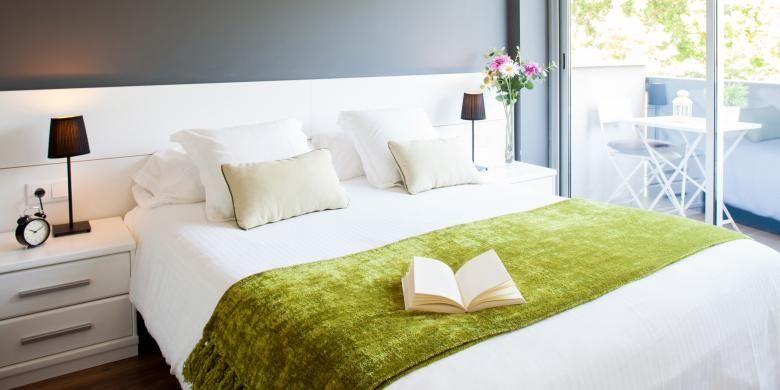 Ilustrasi kamar tidur