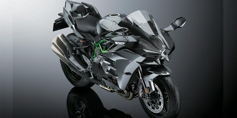 Kawasaki Ninja H2 Carbon yang mirip H2R