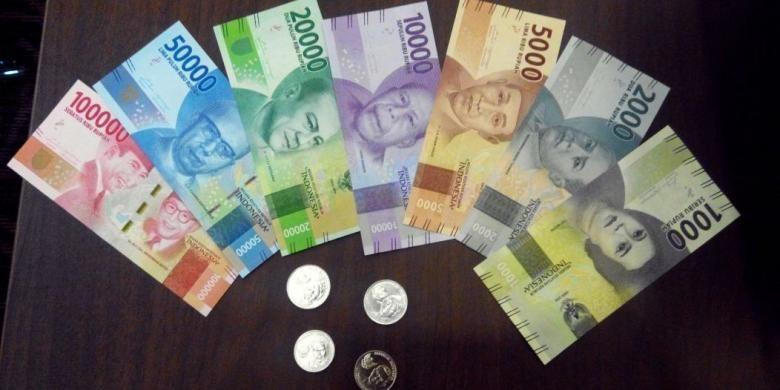 Uang NKRI desain baru yang diterbitkan pada 19 Desember 2016.