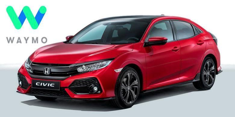 Honda semakin serius bekerja sama dengan Waymo.