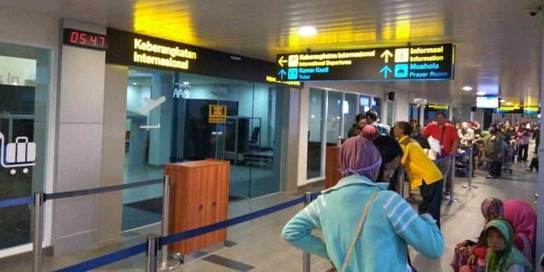 Terminal internasional baru di Bandara Husein Sastranegara, Bandung, Jawa Barat.