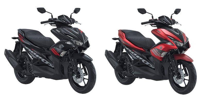 Yamaha Aerox 155 VVA siap dipesan online dengan harga Rp 21,85 juta on the road Jakarta.