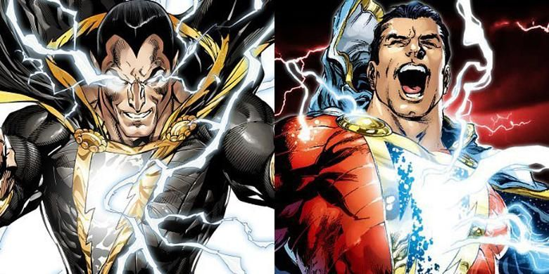 Black Adam dan Shazam