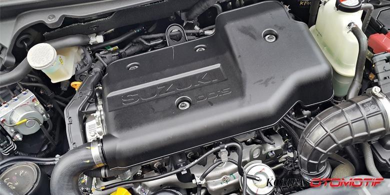 Mesin diesel 1.300 cc Suzuki Ertiga Hybrid