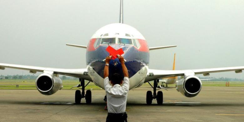 Boeing 737-200 Sriwijaya Air.