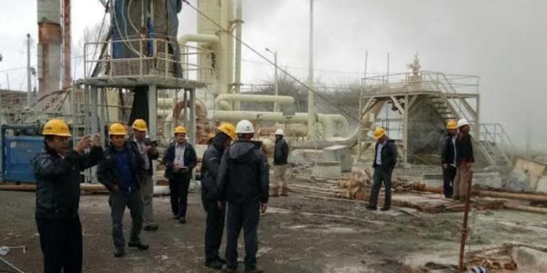 KPK saat melakukan kunjungan lapangan ke PT Geo Dipa Energi (Persero) Unit Dieng, Rabu (15/2/2017).