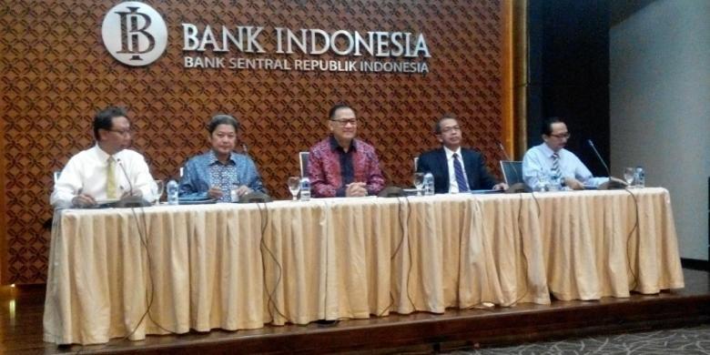 Rapat Dewan Gubernur Bank Indonesia (BI) di Jakarta, Kamis (16/2/2017).