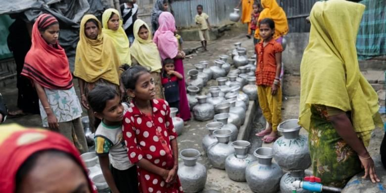 Duh! Bocah-bocah Perempuan Rohingya Dijual Untuk Prostitusi